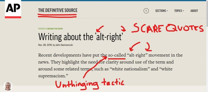 Why We Fight the Frame Game of AP Journalistic Standards – Pearls of ...